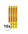 10 confetti kanonnen goud 57 cm