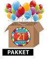 21 jaar versiering voordeel pakket