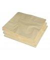 25 Creme kleur servetten 33 x 33 cm