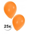 25x oranje ballonnen