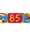 85 jaar sticker
