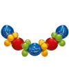 Ballonnen slinger guirlande Welkom