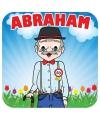 Bierviltjes Abraham