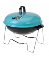 Blauwe barbecue rond 36 cm