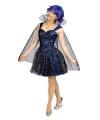 Blauwe sterren fee jurk
