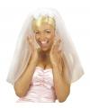 Bruid sluier diadeem