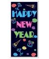 Deurposter Happy New Year