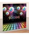 Disco boogie scene setter 165 x 82,5 cm