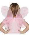 Feeen vleugels roze met sterren