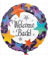 Folie ballon Welcome Back 46 cm