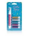 Glitter pennen lichte kleur