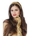 Gouden glitter diadeem