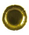 Gouden ronde schaal 45 cm
