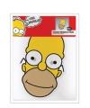 Homer Simpson masker van karton