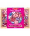 Houten kralenset Sweet hearts