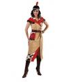 Toppers Indiaan jurk voor dames met riem