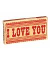 Kauwgom: I love You