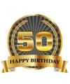Luxe verjaardag mok / beker 50 jaar
