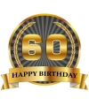 Luxe verjaardag mok / beker 60 jaar