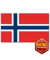 Luxe vlag Noorwegen