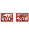 Luxe vlaggenlijn Happy New Year