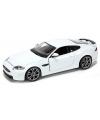 Modelauto Jaguar XKR-S wit 1:24