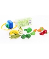 Plastic fruit en groenten 8 stuks