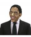 President Obama masker met pruik