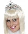 Prinsessen tiara zilver