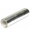 Serpentine rol zilver 4 meter