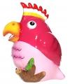 Spaarpot roze papegaai