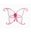 Vlinder vleugels roze