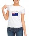 Wit dames t-shirt Nieuw Zeeland