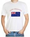 Wit t-shirt Nieuw Zeeland heren