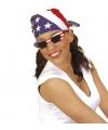 Zonnebril U.S.A. ovaal
