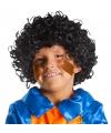 Zwarte pieten pruik voor kids